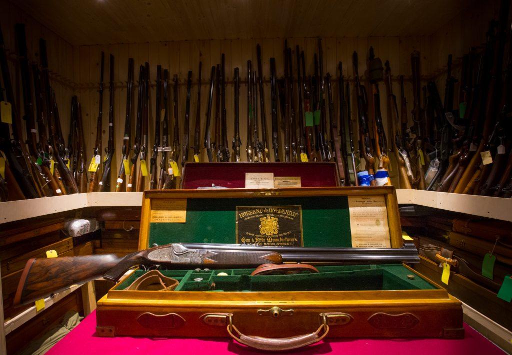 Holland & Holland O/U Rifle @BRAUCHITSCH