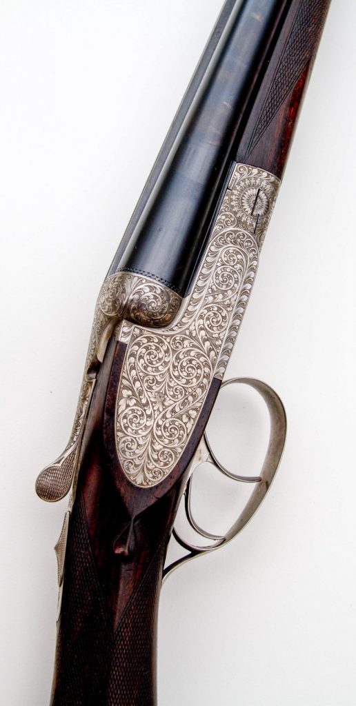 FN Side by Side, 12 G, Sidelock©De Smedt