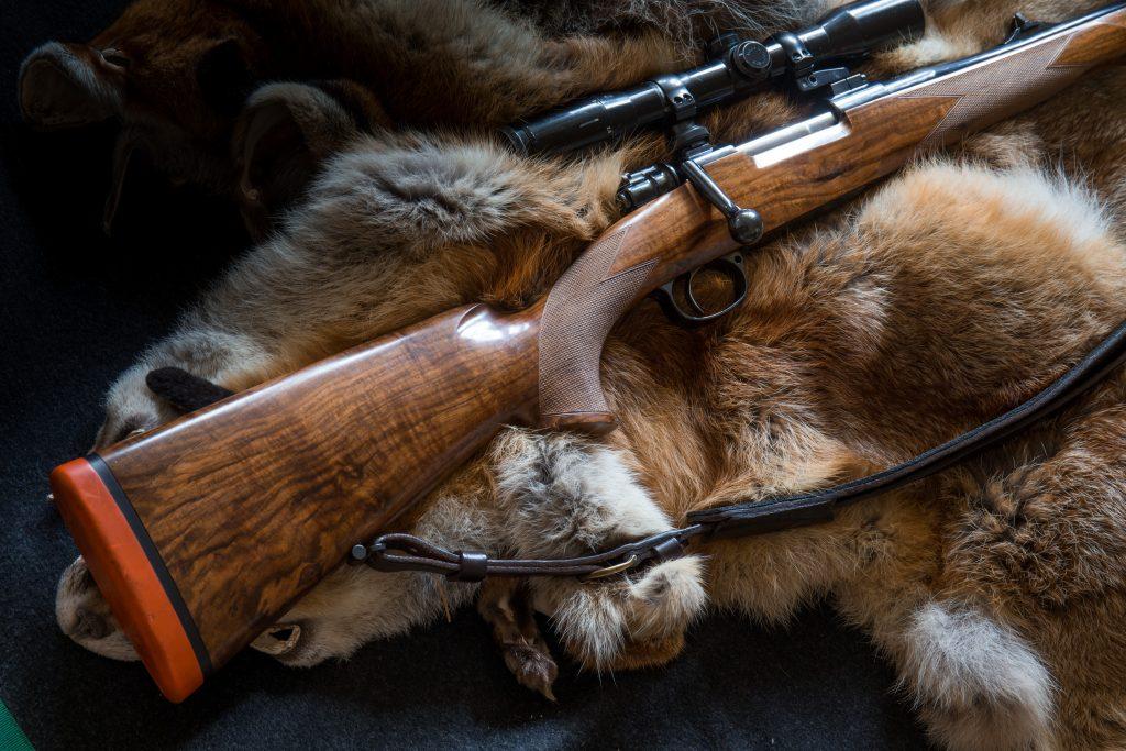 Mauser 98 Stutzen with Zeiss Scope©Hunting-Heritage/Brauchitsch