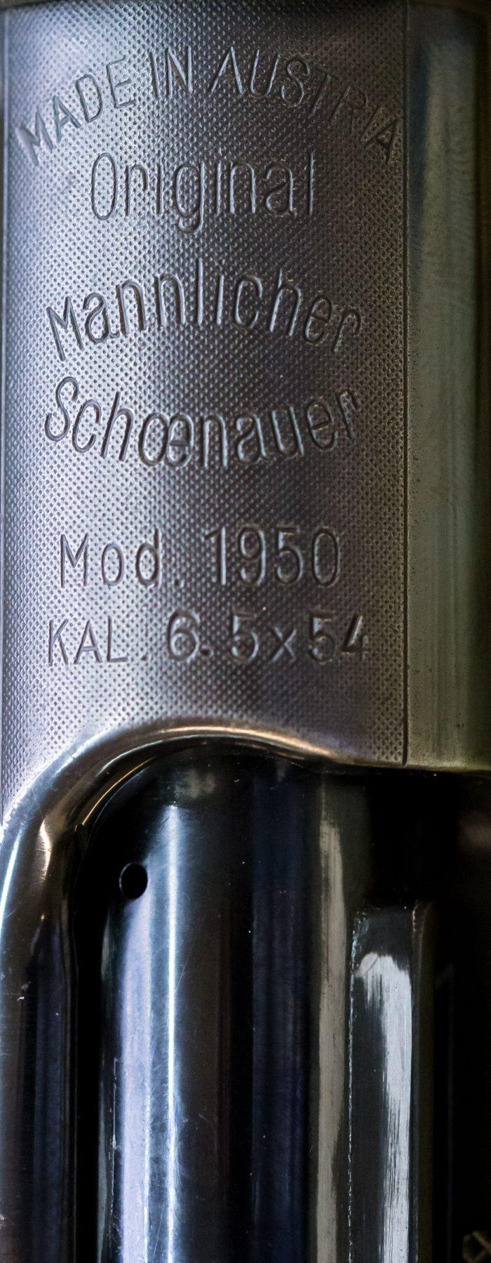 Mannlicher Schšönauer Mod. 1950, Caliber 6,5x54