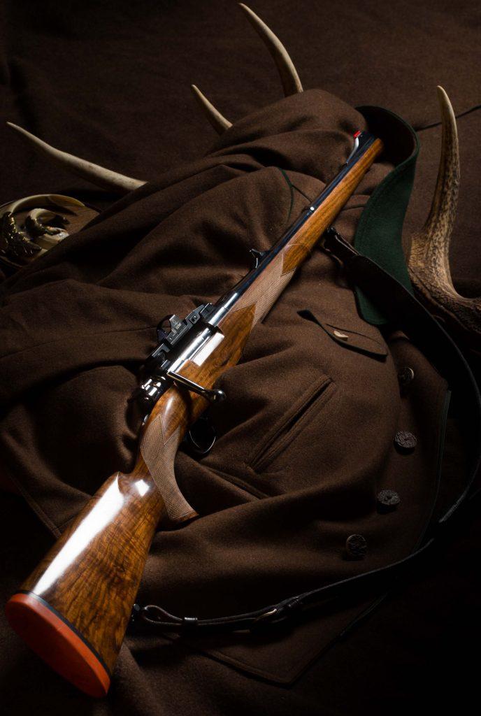 Mauser 98 Stutzen with Doctersight©Hunting-Heritage/Brauchitsch