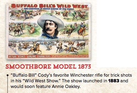 Winchester 150th Anniversary - Famous Customers: Bill Cdy an Annie Oakley
