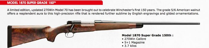Winchester 150th Anniversary - Collectors item: