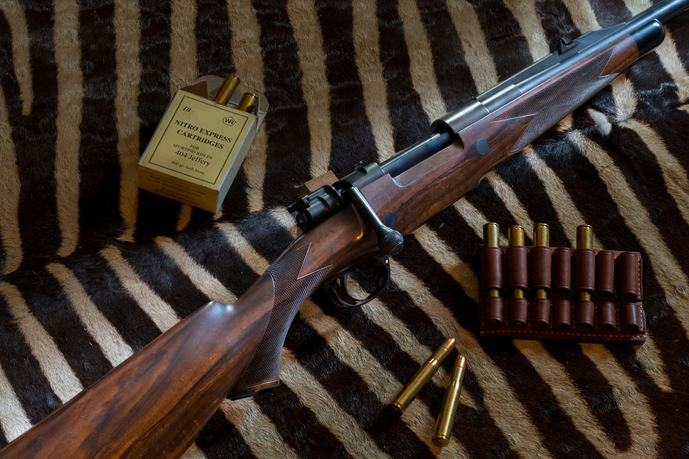 SCHILLER Mauser 98 PH Rifle, Cal. .404 Jeffery