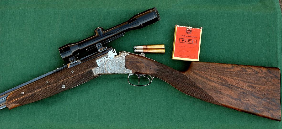 FN B25 Express rifle with Funken engraving© Fredrik Franzen