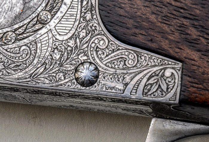 Funken engraved FN B25 Express rifle © Fredrik Franzen